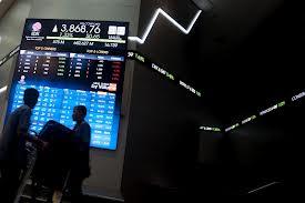 trend harga saham