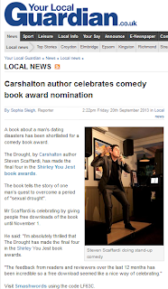 Sutton Guardian: Carshalton author celebrates comedy book award nomination