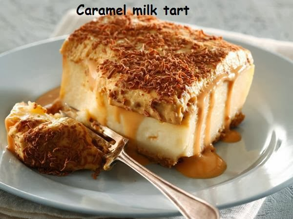 Hanneica's Kitchen: Caramel Milk Tart