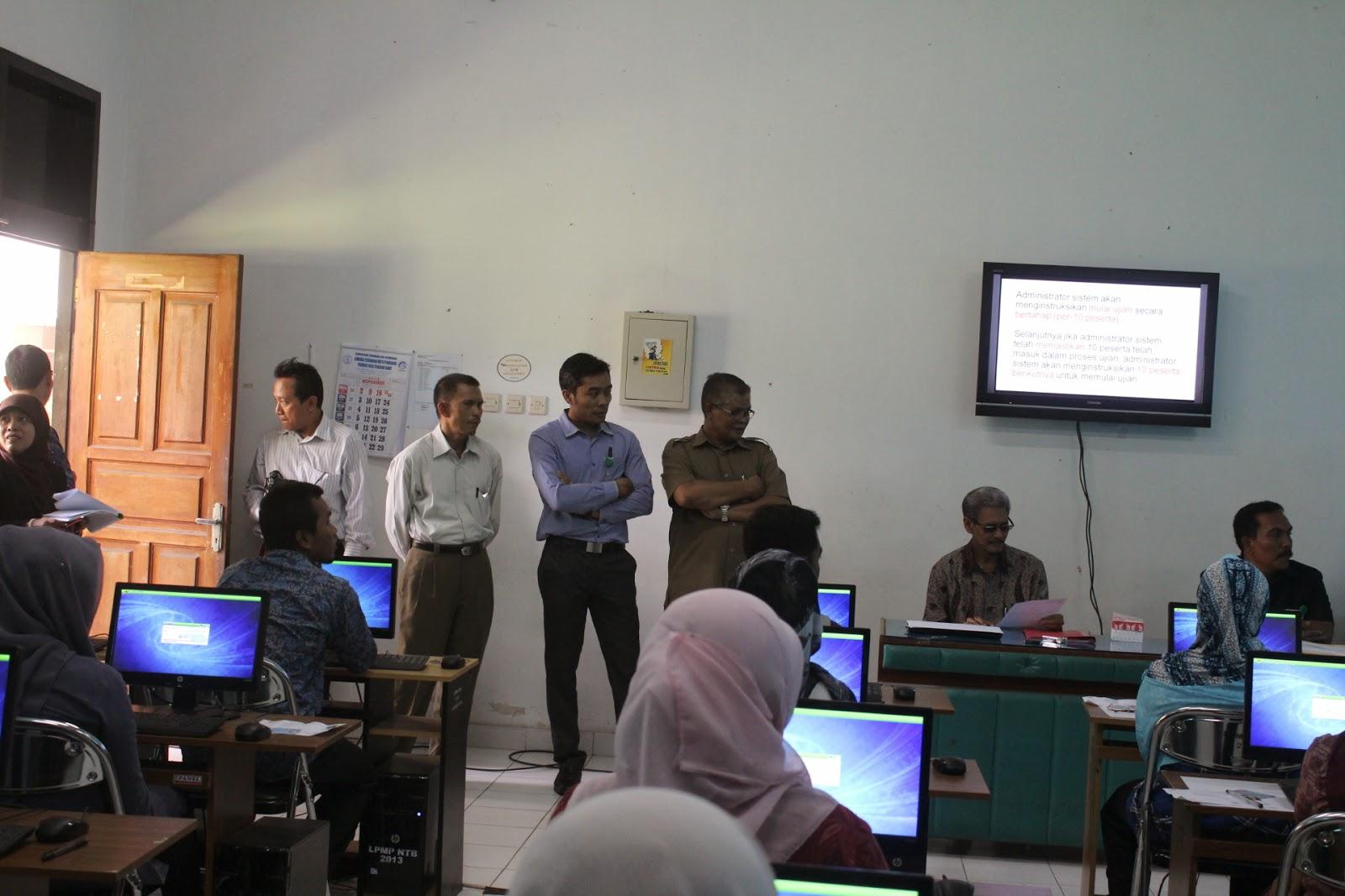 Kunjungan Rektor IAIN Mataram