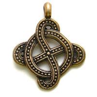 купить кулон солнечный свастичный крест языческие символы из бронзы латуни