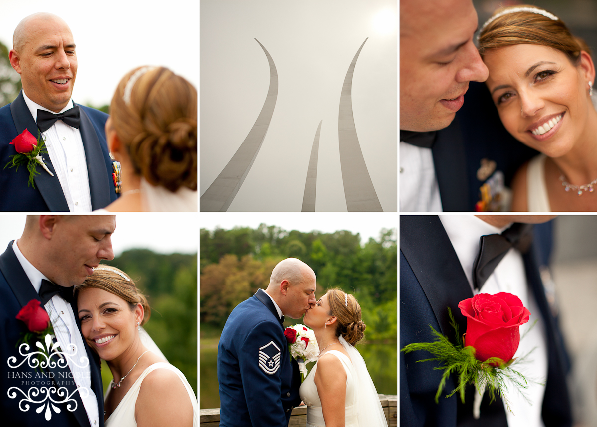 Air Force Memorial Wedding 4th of July!!!