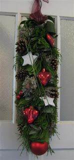 bloemstuk kerst guirlande