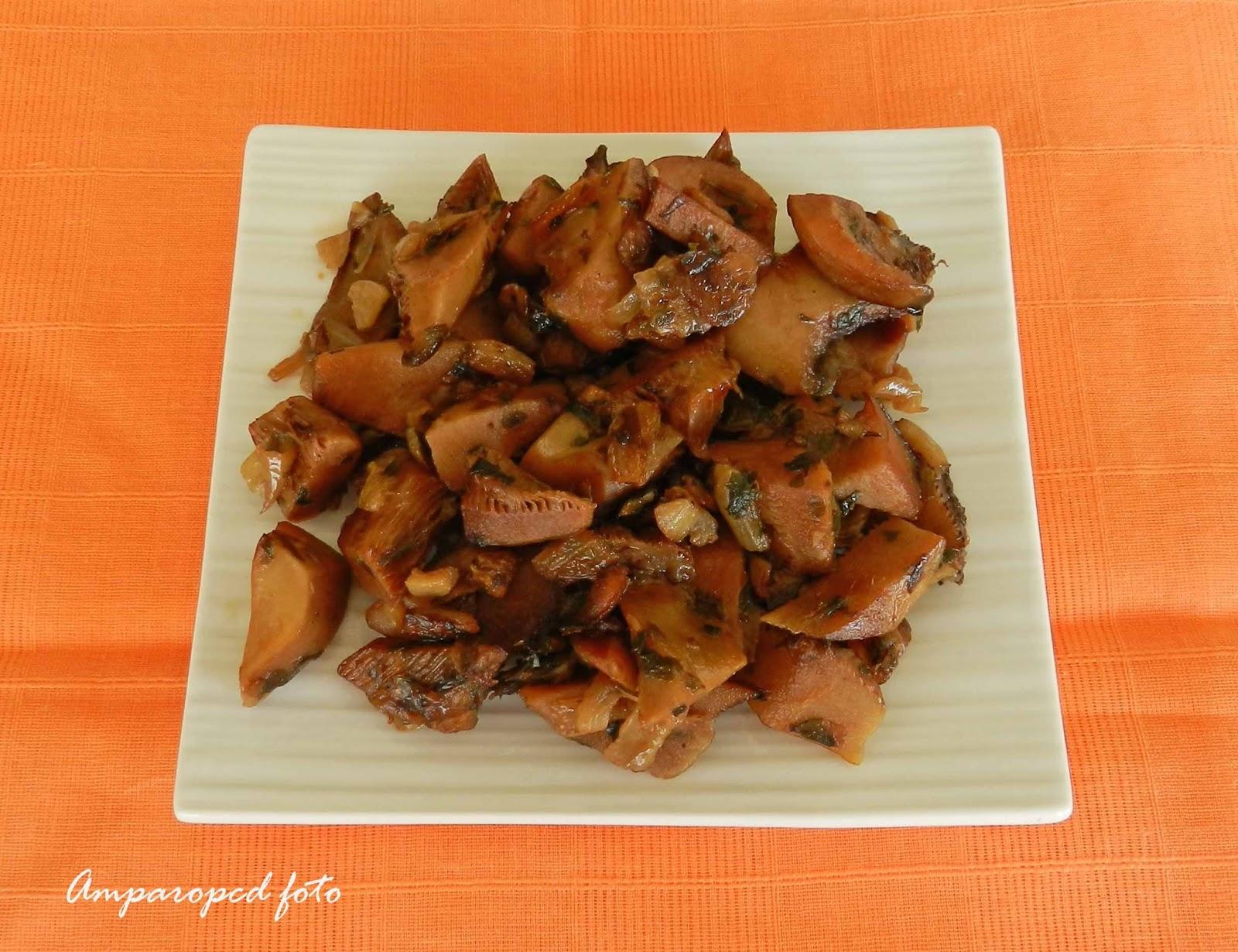 Cocinar Niscalos | Cocinando En Casa Niscalos Guisados