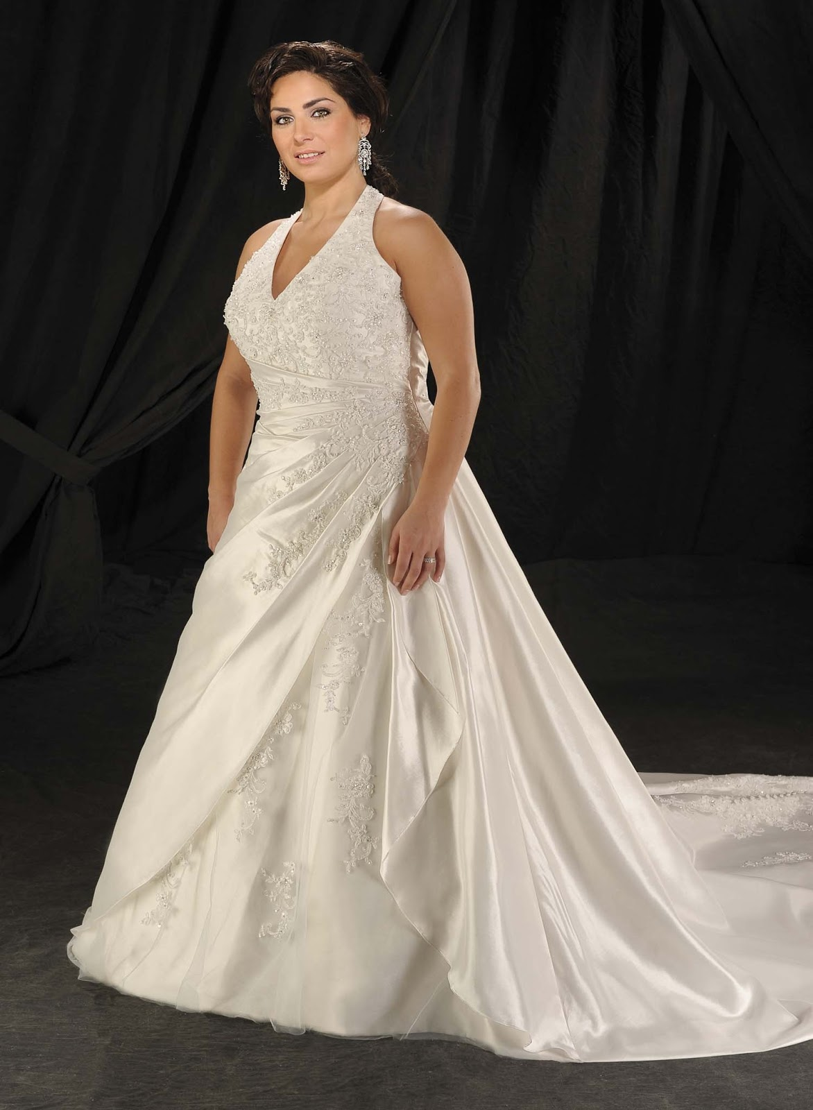 Affordable plus size vintage wedding dresses ombrellifo Image collections