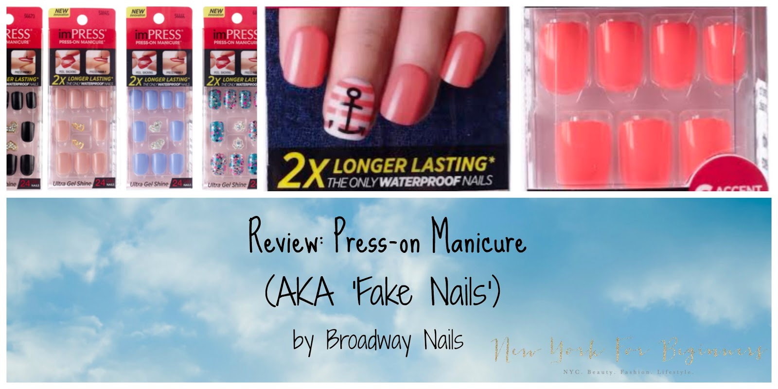 New York For Beginners: Why I got hooked up on fake press-on nails ...