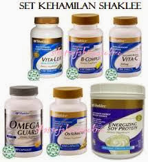 Shaklee, produk Shaklee,set kehamilan, set untuk ibu mengandung