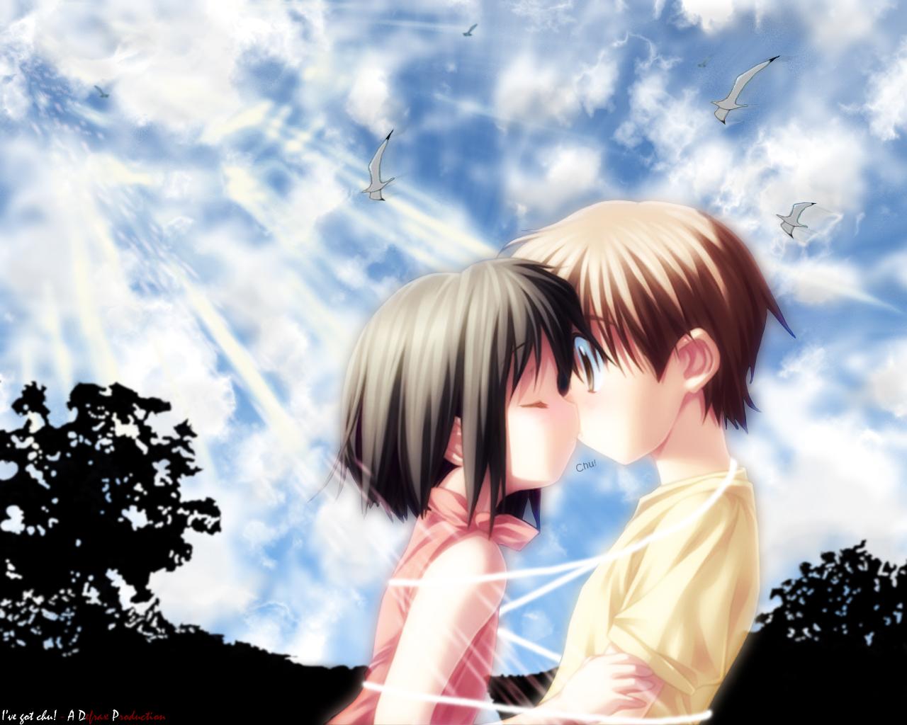 anime love - sweet memories