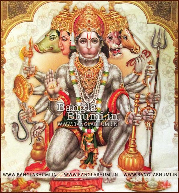 Lord Hanuman Super India God HD Poster Wallpaper Free Download