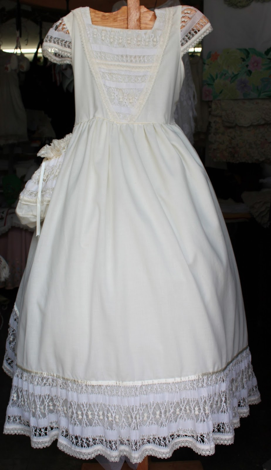 Como lavar un vestido de comunion en casa