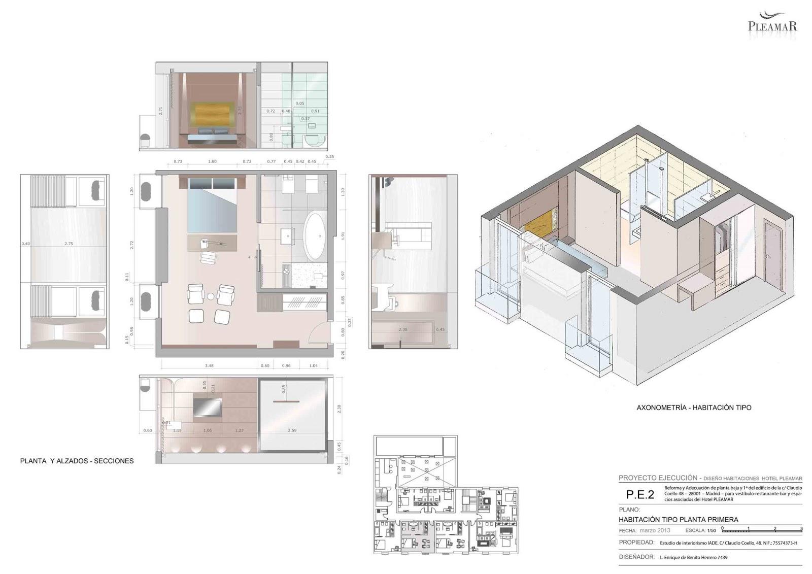 Edbhinteriordesign for Plano de cocina hotel 5 estrellas