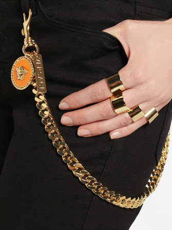 Versace Wallet Chain