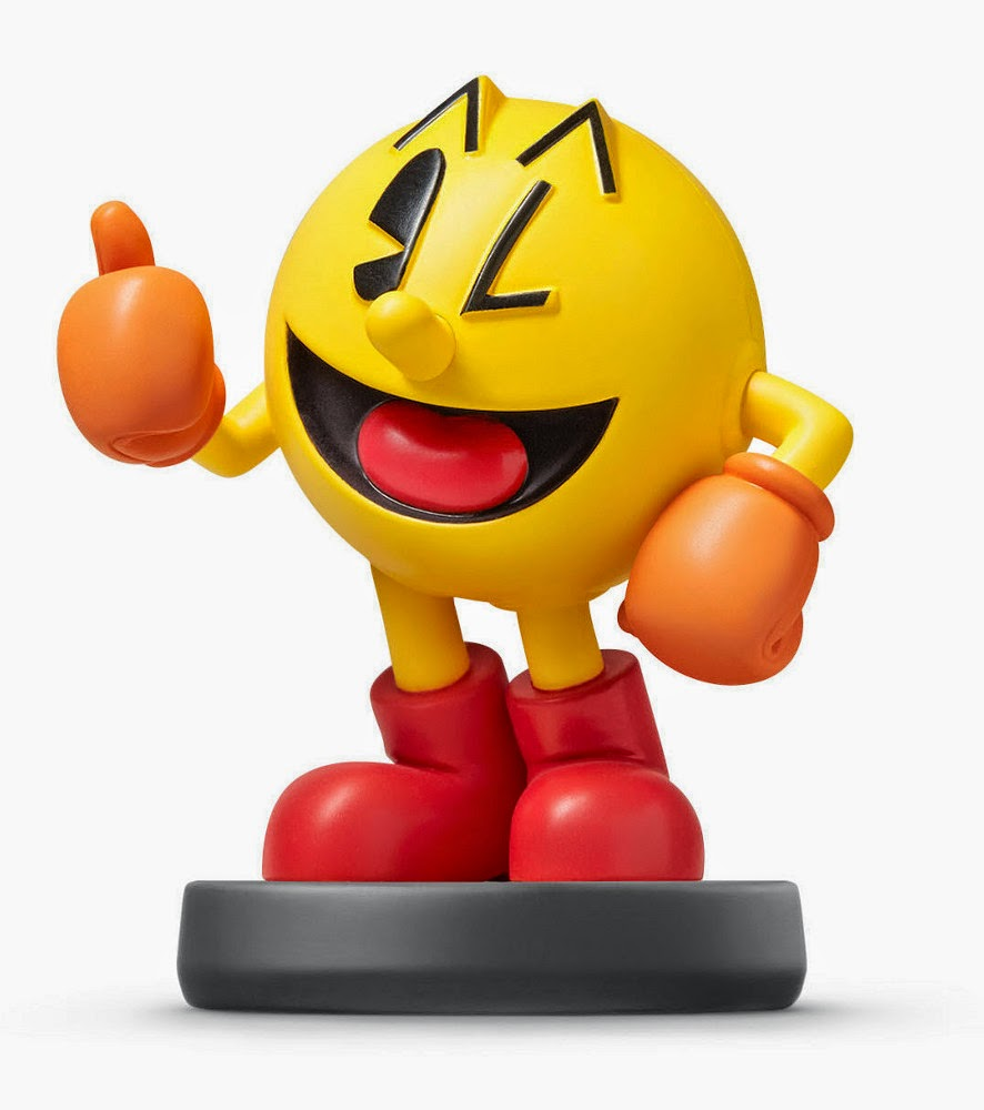 JUGUETES - NINTENDO Amiibo - 35 : Figura Pac-Man (24 Abril 2015) | Videojuegos | Muñeco | Super Smash Bros Collection Plataforma : Wii U & Nintendo 3DS