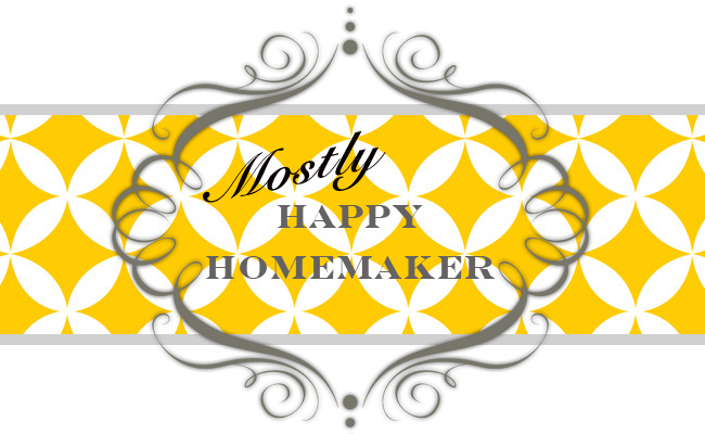 Mostly Happy Homemaker