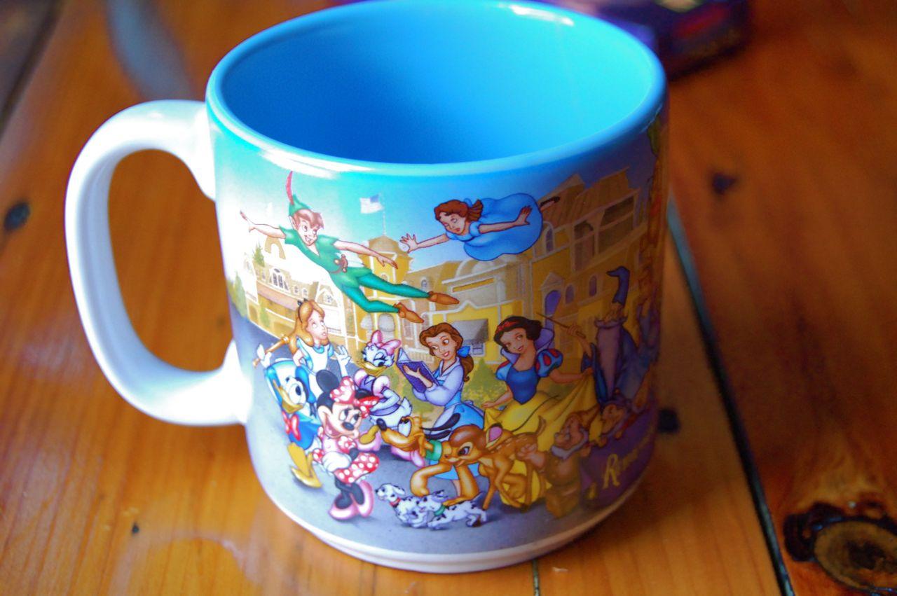 disney musings  walt disney world 25th anniversary mug