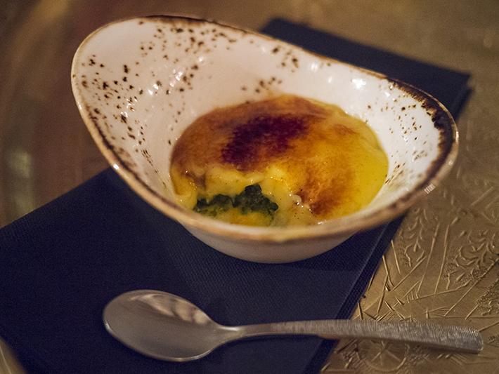 Le Menar London restaurant North African Moroccan food soho fitzrovia pistachio saffron creme brulee