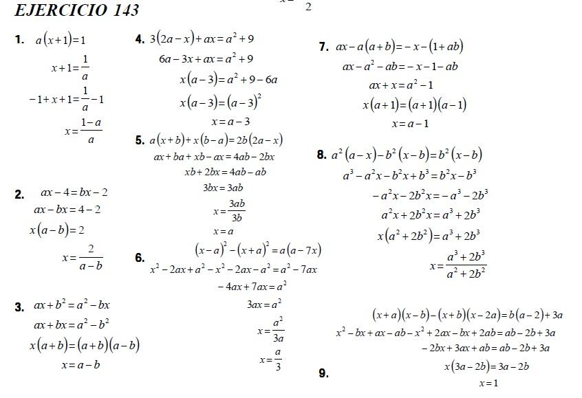 Algebra Baldor Pdf Resuelto