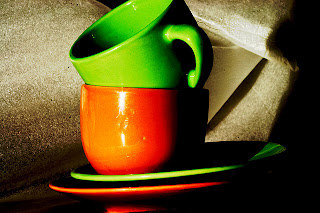 orange and green color combination