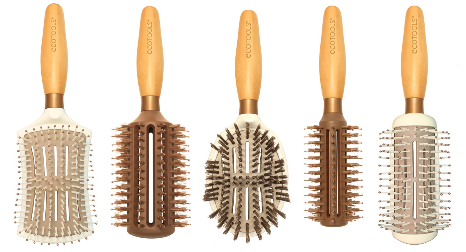 ECOTOOLS Hair Brushes review