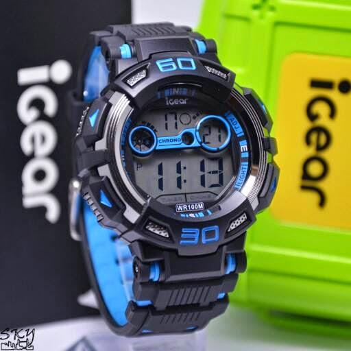 I Gear I07 Original hitam biru