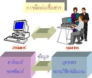 การใข้เทคโนโลยีสารสนเทศ