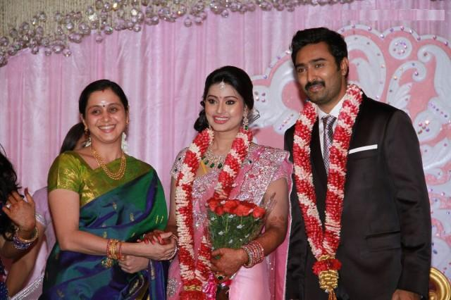 Sneha and Prasanna Marriage Reception Album