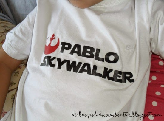 Camiseta de niño de Star Wars