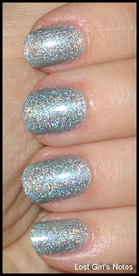 milani 3d blue holo cyberspace swatches and review