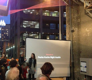 20 ft wide downtown austin alley Pecha Kucha