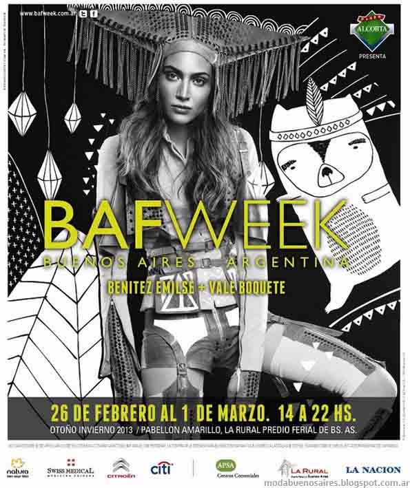 Bafweek otoño invierno 2013