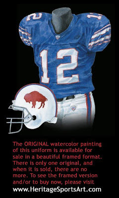 Buffalo Bills 2005 uniform