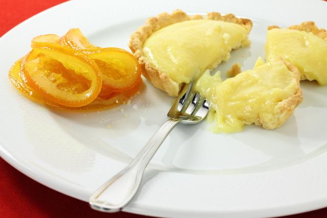 Тарталетки с апельсиновым кремом (orange curd)