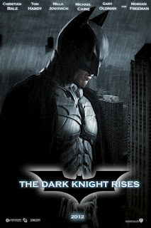 the dark knight rises movie poster
