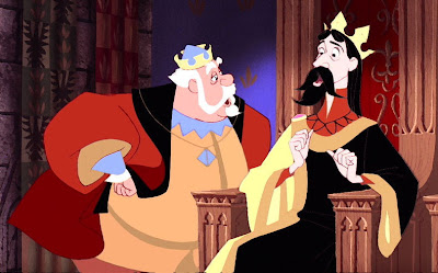 King Hubert and King Stefan discuss Disney's latest facial hair policy