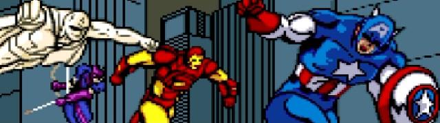do time, Captain America and The Avengers, para Super Nintendo