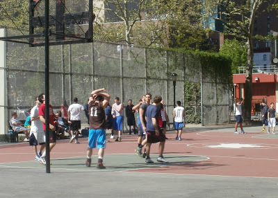 manhattan basketball court