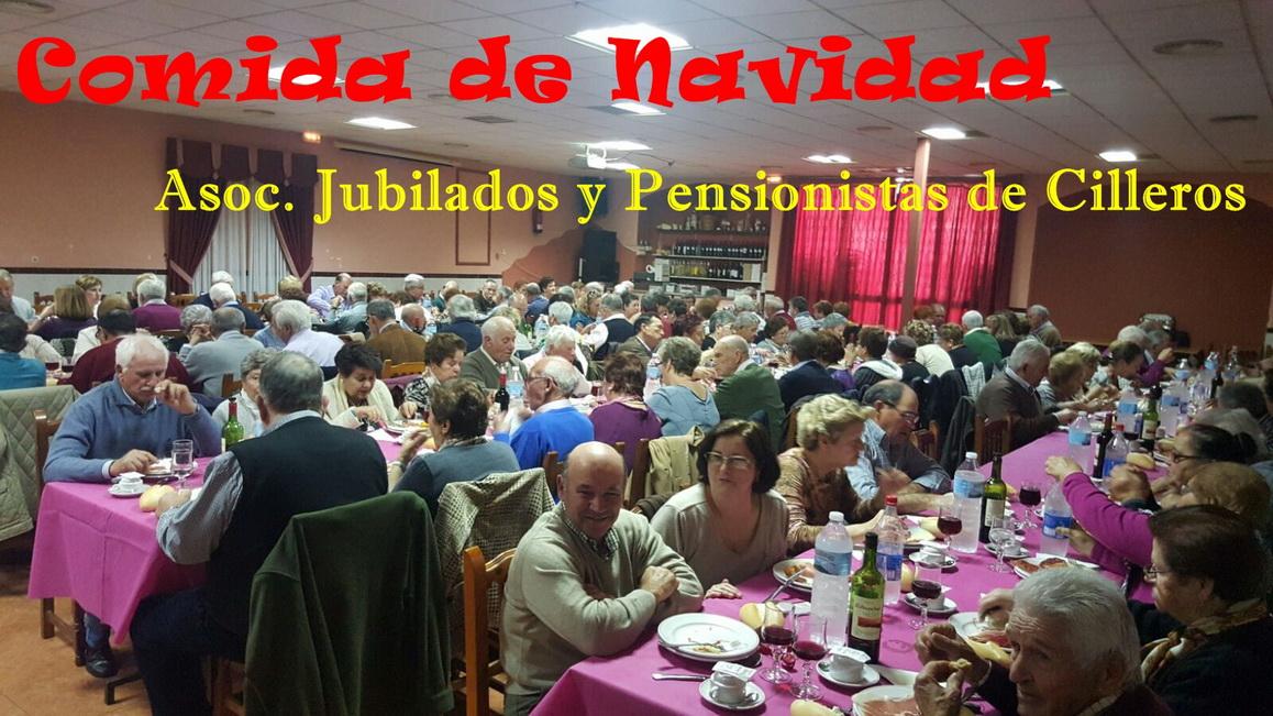 COMIDA DE NAVIDAD JUBILADOS Y PENSIONISTAS
