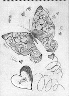 my butterfly sketch