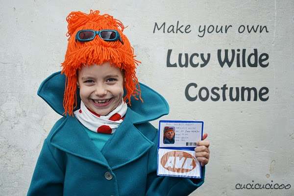 Make your own Lucy Wilde (from Despicable Me 2) costume!