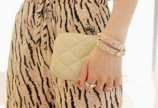 Simple PU Leather Clutch