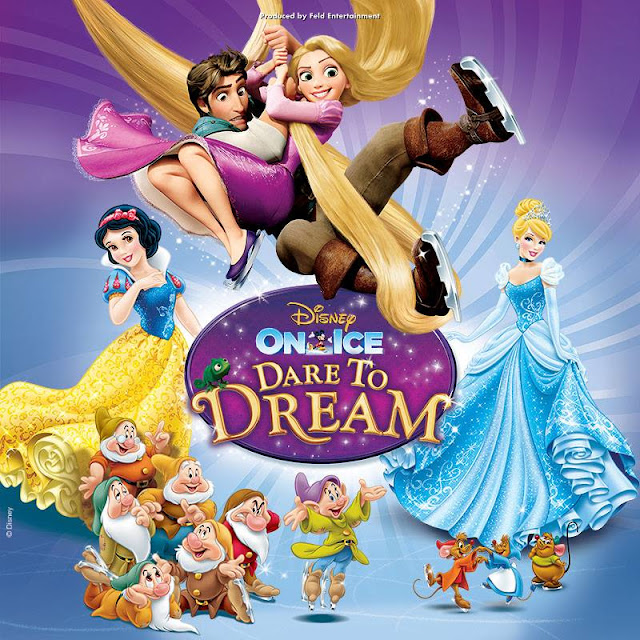 Disney on Ice presents Dare To Dream Brisbane performance June 2015