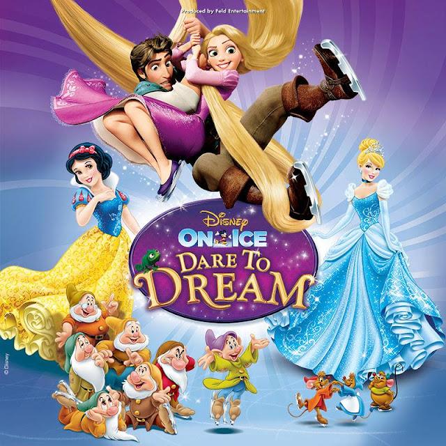 Disney on Ice presents Dare To Dream Brisbane performance June 2015