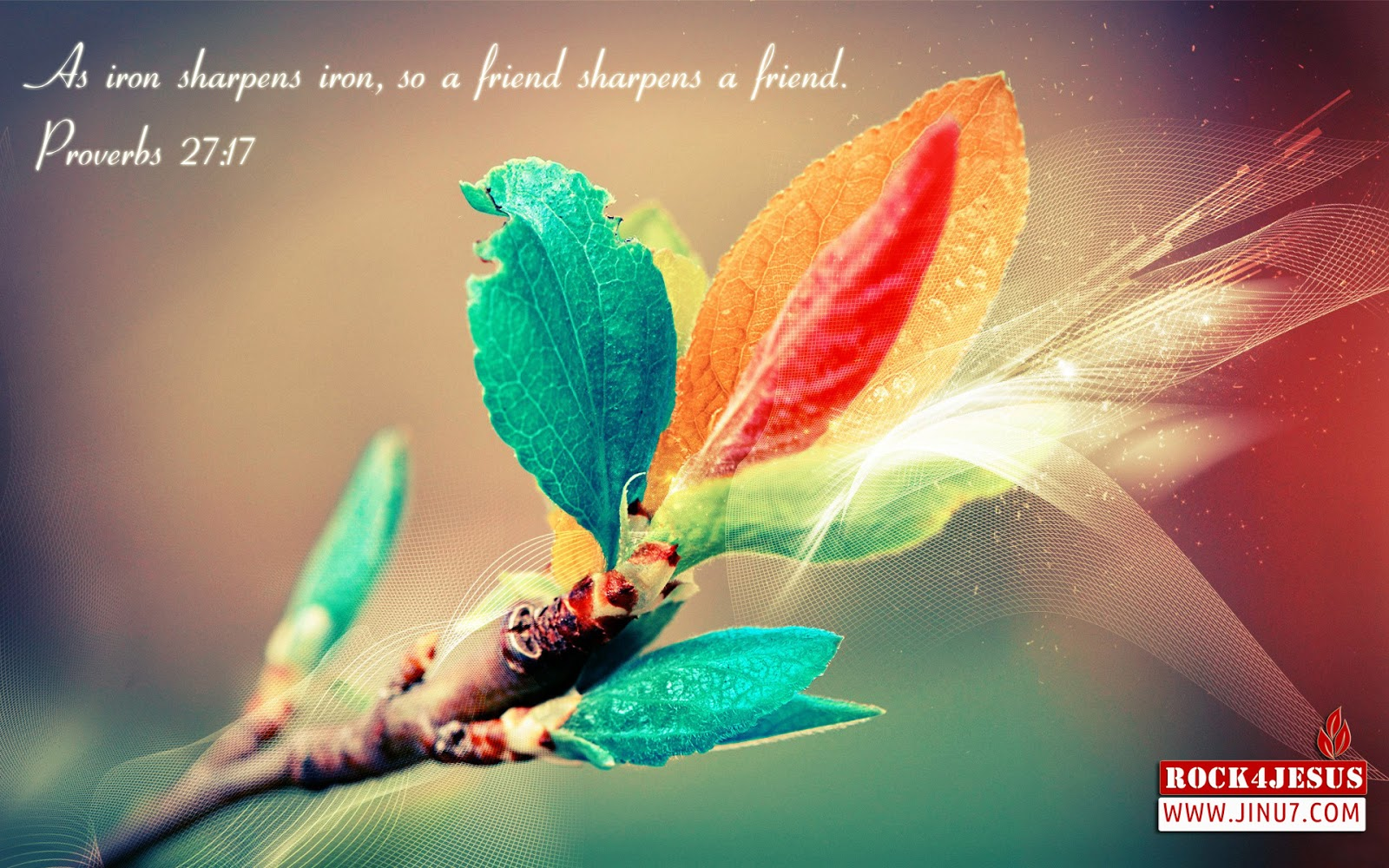 Frienship Day Christian Quotes Wallpaper