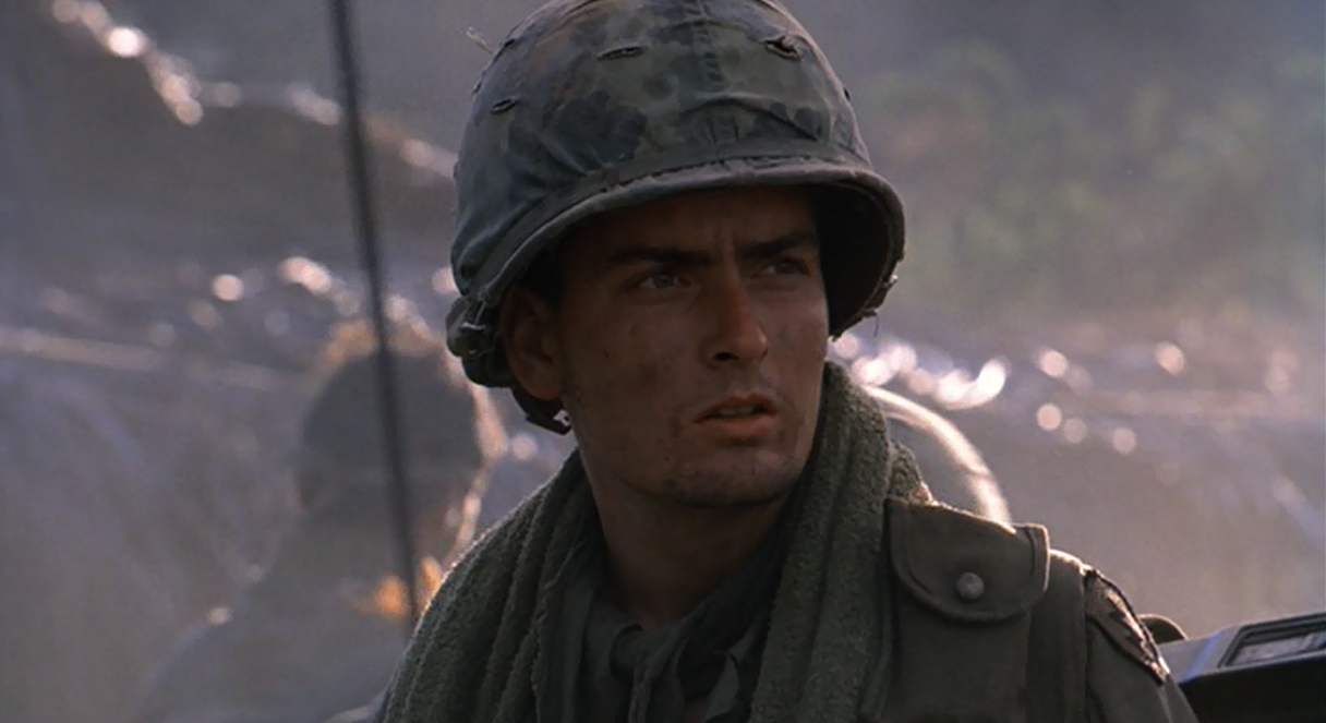 Platoon Movie Charlie Sheen