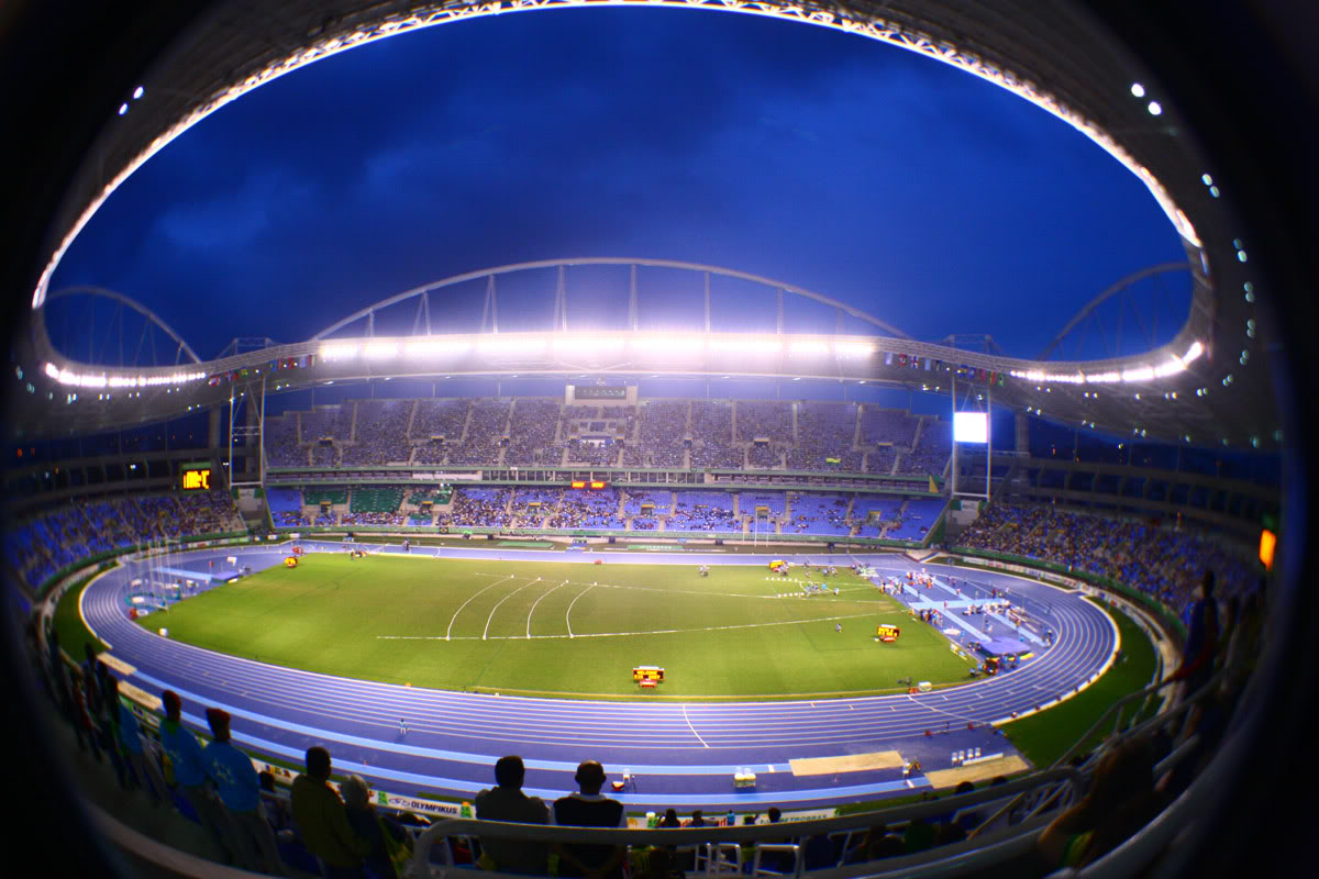 world visits rio olympic stadium or joao havelange stadium