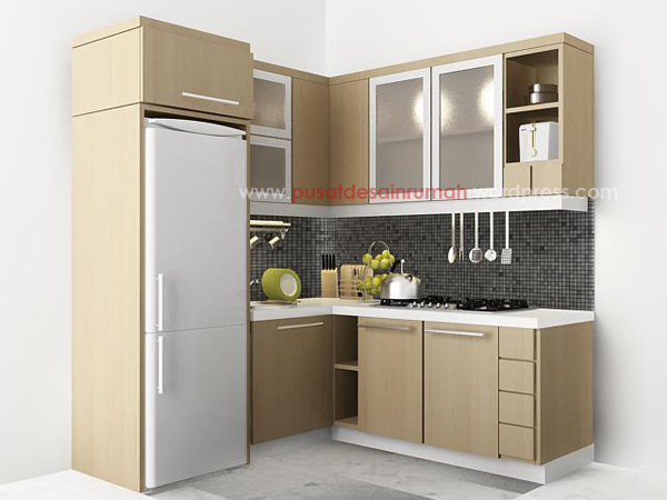 Model dapur minimalis for Kitchen set mini bar