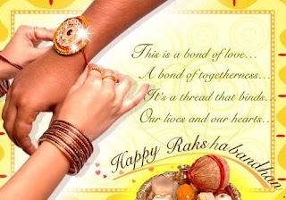 Happy Raksha Bandhan Rakhi 2012