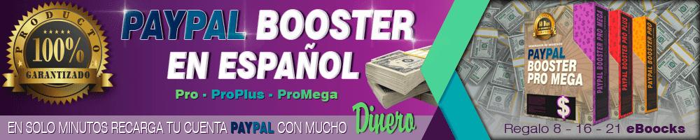 Paypal Booster En Español 2017