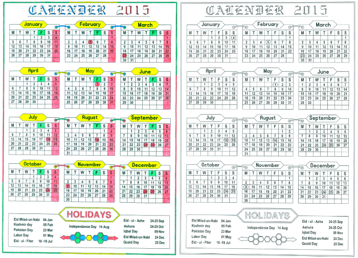 The islamic calendar 2016 download