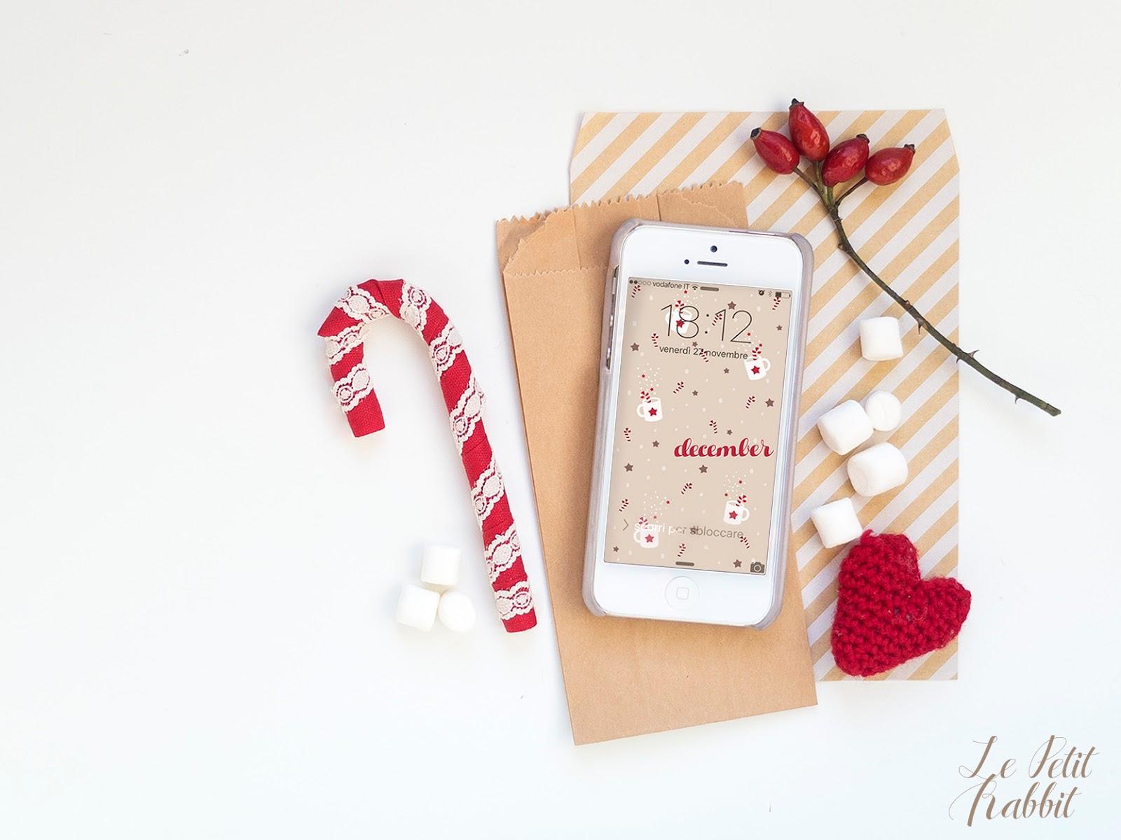 Sfondo Gratuito Smartphone Dicembre 2015 Le Petit Rabbit